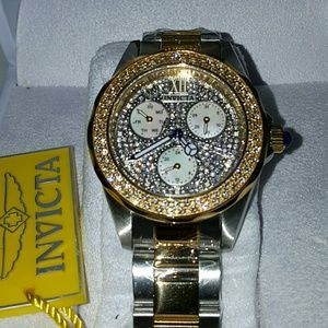 Big sale,Invicta crystal ladies watch(1 in stock)